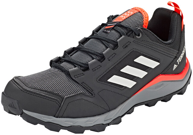 adidas TERREX Agravic TR Chaussures de trail Homme, core blackgrey onesolar red